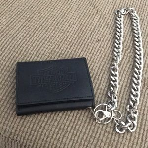 Harley Davidson Wallet with chain